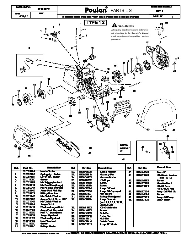 craftsman 18 chainsaw fuel line diagram for solved