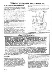 Toro 38054 521 Snowthrower Manuel des Propriétaires, 1995 page 10