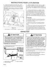 Toro 38054 521 Snowthrower Manuel des Propriétaires, 1995 page 14
