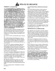 Toro 38054 521 Snowthrower Manuel des Propriétaires, 1995 page 2