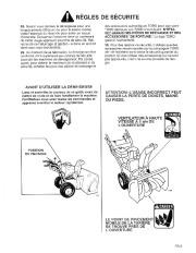 Toro 38054 521 Snowthrower Manuel des Propriétaires, 1995 page 3