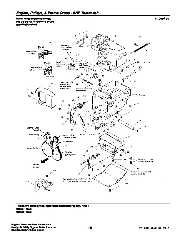 8 Hp Briggs And Stratton Engine Diagram