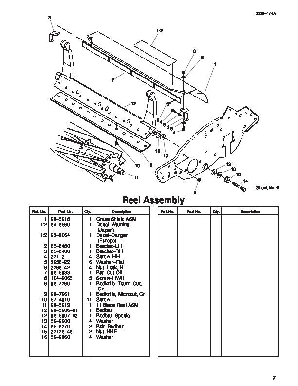 toro lawn mower parts manual