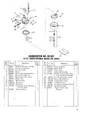 Toro 38040 524 Snowthrower Parts Catalog, 1982, 1983 page 9