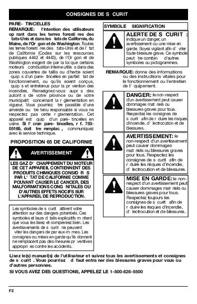 bolens bl100 owners manual