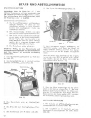 Toro 38040 524 Snowthrower Laden Anleitung, 1979 page 12
