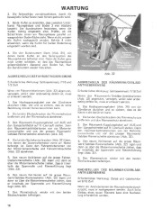 Toro 38040 524 Snowthrower Laden Anleitung, 1979 page 16