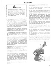 Toro 38040 524 Snowthrower Laden Anleitung, 1979 page 19