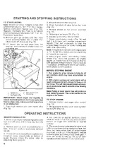 Toro 38052C 521 Snowthrower Owners Manual, 1989 page 10