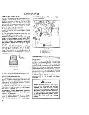 Toro 38052C 521 Snowthrower Owners Manual, 1989 page 16