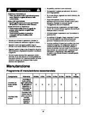 Toro 38053 824 Snowthrower Manuale Utente, 2000, 2001 page 18