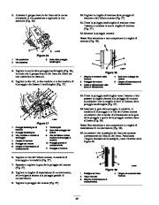 Toro 38053 824 Snowthrower Manuale Utente, 2000, 2001 page 22