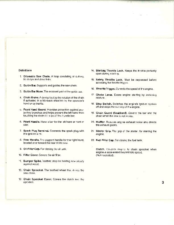 08 stihl Service Manual