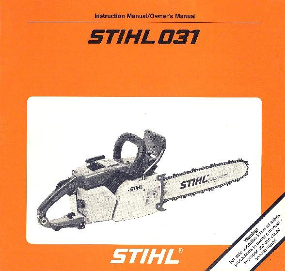 Stihl Ms 180c repair Manual