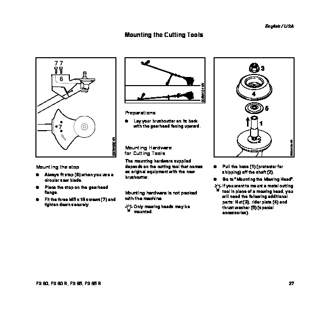 Stihl fs 80 repair manual