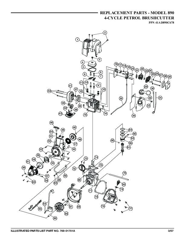 mtd spare parts manual