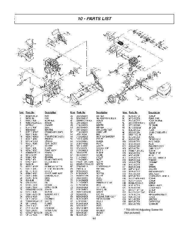 Mcculloch mac 120 chainsaw service manual