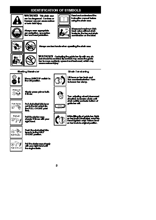Poulan Pro pp4218avx maintance manual