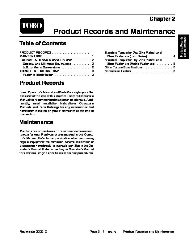 toro reelmaster manual ebook