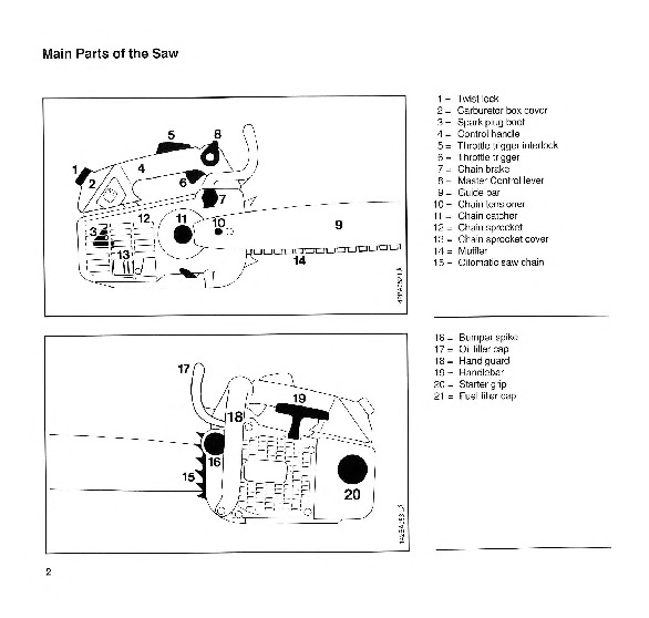 Stihl 020t repair manual Km55rl