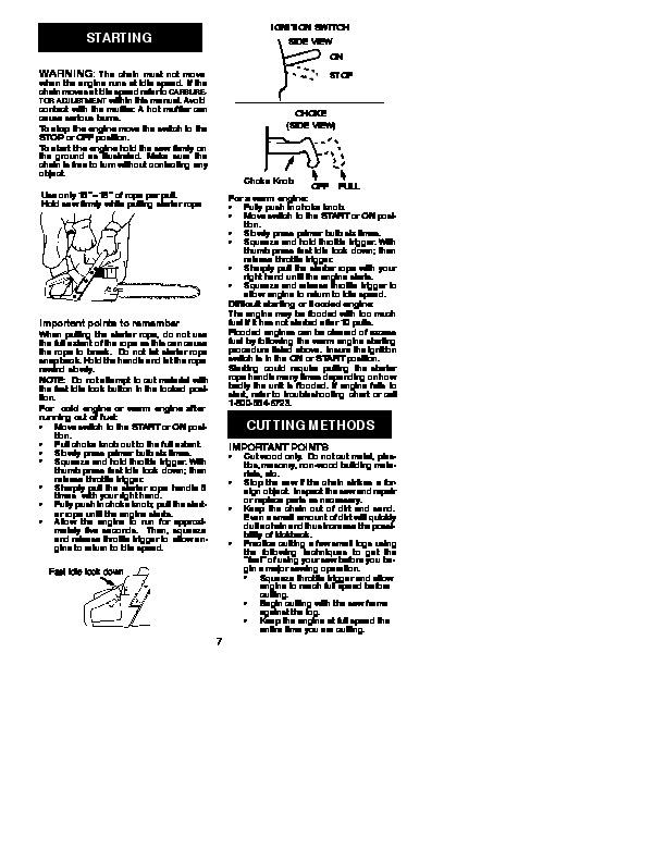 Repair Manual poulan 1950 woodshark