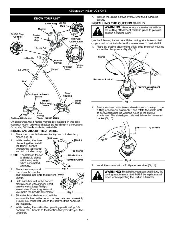 Troybilt lawnmower Repair Manual