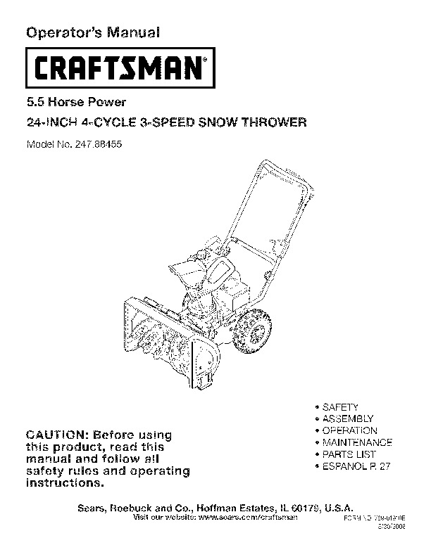 247 776350 repair Manual