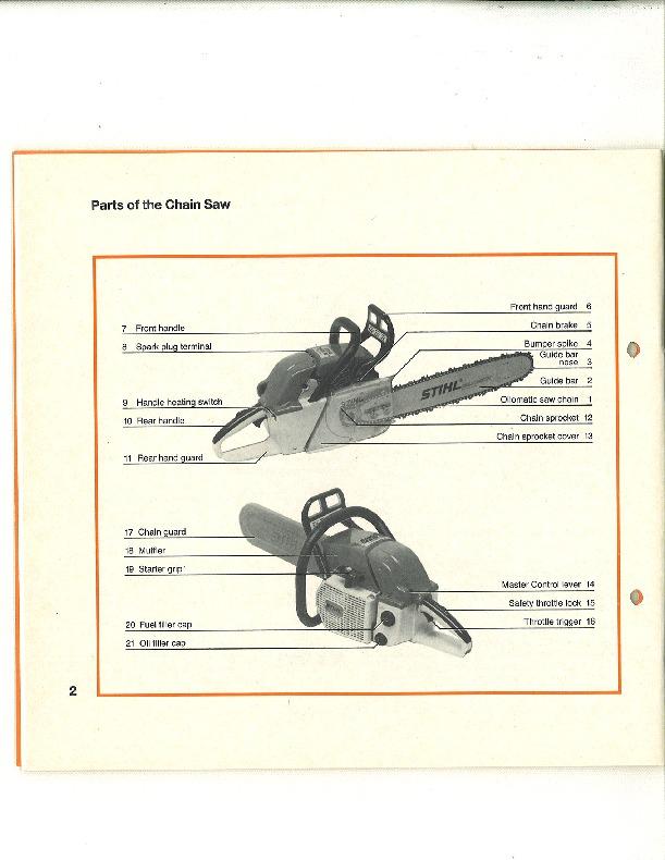 Stihl 048 manual