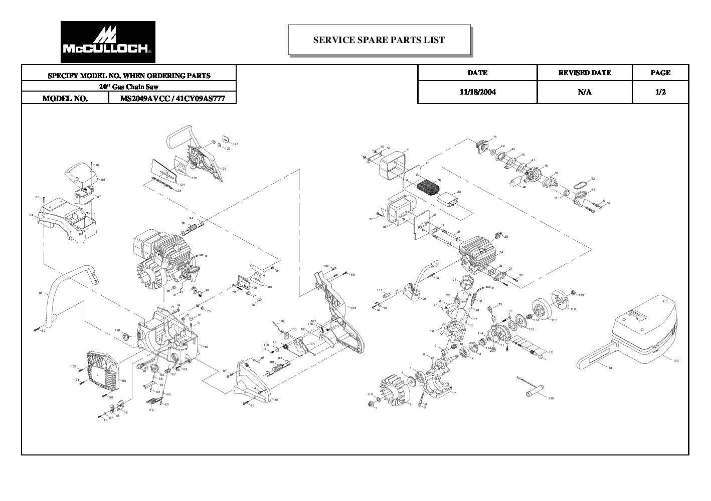 Ms170 Stihl Service Manual