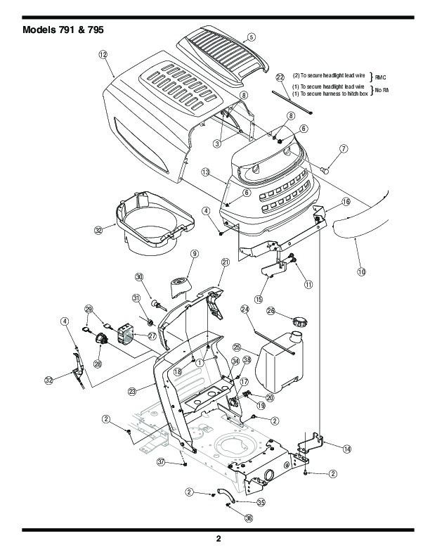 Mtd 46 mower Repair manual