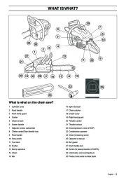 Husqvarna 268 Xp Chainsaw manual